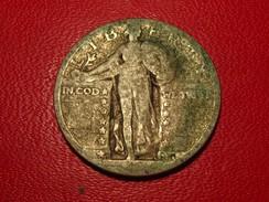 Etats-Unis - USA - Quarter Dollar ND-S Standing Liberty 3010 - 1916-1930: Standing Liberty (Libertà In Piedi)