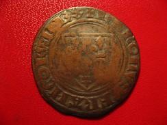 France - Blanc Guénar Charles VI - A Identifier 3138 - 1380-1422 Charles VI Le Fol