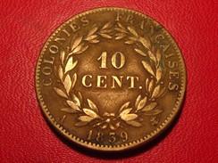 France - Colonies Françaises - 10 Centimes 1939 Louis Philippe 2929 - Colonies