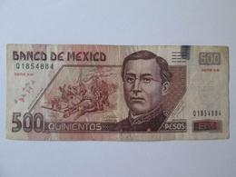 Rare! Mexico 500 Pesos 2006 Banknote - México