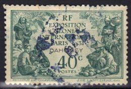 Dahomey N° 99 Exposition Coloniale 1931 - Usados