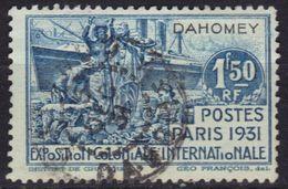 Dahomey N° 102 Exposition Coloniale 1931 - Usados