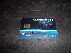 ANCIENNE CARTE GSM SIM CARREFOUR ITINERIS B.E !!! - France