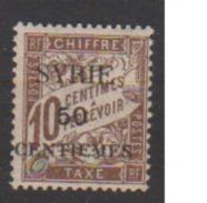 SYRIE         N°  YVERT  :   TAXE  22  NEUF AVEC  CHARNIERES      ( Ch 1873  ) - Timbres-taxe