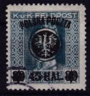 POLAND 1918 Lublin Fi 24 Used  Signed - Gebruikt