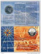 NUMISMATICA - MADEIRA - MADERA - ANNO 1989 FDC - ARGENTO - 100 ESCUDOS - CONQUISTA DELL'ATLANTICO - Azores