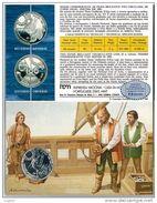 NUMISMATICA - AZZORRE - AZORES - ANNO 1989 FDC - ARGENTO - 100 ESCUDOS - CONQUISTA DELL'ATLANTICO - Açores