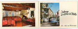 CPSM A VOLET      13 AIX EN PROVENCE       AUBERGE DE LA CROIX DE MALTE     2 RUE VANLOO - Hotel's & Restaurants