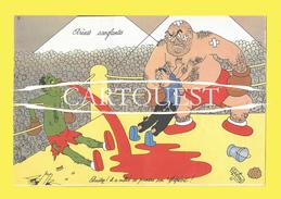 PHARMACIE : Pub PSYCHOGLUTAL ( Hémorragies) Labo FRAYSSE Arènes SANGLANTES ( Illustré DUBOUT Albert ) Sport Boxe Sang - Chemist's