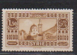SYRIE         N°  YVERT  :   205     NEUF AVEC  CHARNIERES      ( Ch 1895 ) - Syrie (1919-1945)
