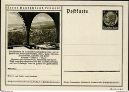 28240 Germany Reich. Stationery Ganzsache 6pf Bad Flinsberg, Radium Mineral  Rheumatism, Thermal Bath - Ganzsachen