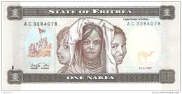 ERYTHREE   1 Nakfa   24/5/1997   P. 1   UNC - Eritrea