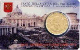 Numismatica STAMP & COIN CARD N° 6 -  PAPA FRANCESCO 2015 - VATICAN CITY VATICANO - Vatican