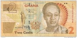 GHANA   2 Cedis   6/3/2010   P. 37A - Ghana