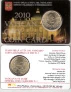 Numismatica STAMP & COIN CARD N° 1 - GIOVANNI PAOLO II° -  2010 - VATICAN CITY VATICANO - Vaticano