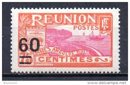 3/ Reunion  N° 98 Neuf XX MNH  Cote : 1,60 €    (Album 11) - Nuevos