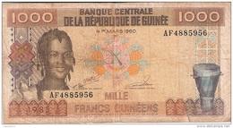 GUINEE   1000 Francs   1985   P. 32a - Guinée
