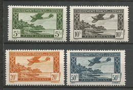 OCEANIE PA N° 14 à 17 NEUF* LEGERE TRACE DE CHARNIERE TTB / MH - Oceania (1892-1958)