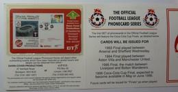 UK - BT - L&G - BTG-626 - 505K - Football Covers - Arsenal Versus Sheffield Wednesday - 1000ex - Mint In Folder - Royaume-Uni
