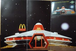 UK - BT - L&G - BTG-593 - 505G - McDonald's - Spaceship Restaurant - Alconbury - Mint In Folder - BT General Issues