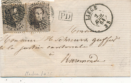 LIEGE - 1864 - Belgien