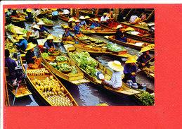THAILLANDE Cp Floating Market                   1075 Edit Phatana - Thaïlande
