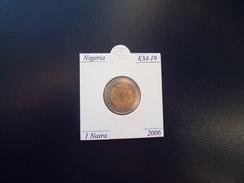 NIGERIA 2006, 1 NAIRA, BIMETALICA, KM-18, SC-UNC - Nigeria