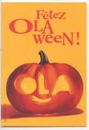 Fête D'Halloween - Fetez Olaween ! Rendez Vous Jardins Trocadéro (citrouille - OLA Itineris) Cp Vierge - Publicité