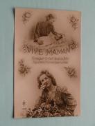 Vive MAMAN ( PF 1250 Paris ) Anno 19?? ( Zie/voir Foto Voor Details ) !! - Fête Des Mères