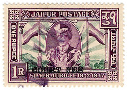(I.B) India Revenue : Jaipur Court Fees 1R - India (...-1947)