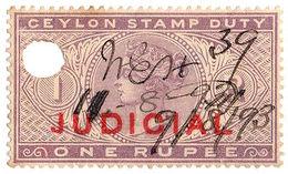 (I.B) Ceylon Revenue : Judicial 1R - Ceylon (...-1947)