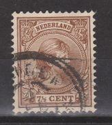 NVPH Nederland Netherlands Pays Bas Niederlande Holanda 36 Used ; Koningin Queen Reine Reina Wilhelmina 1891 - Gebruikt