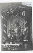 (RECTO / VERSO) ST DIDIER EN JUIN 1921 - J.B  - CARTE PHOTO CPA NON VOYAGEE -75 - Kirchen U. Kathedralen