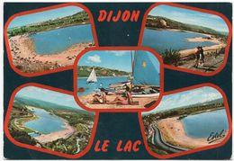 Dijon : Multivues, Le Lac (Editions Estel, Blois, N°H 20.064.w) - Dijon