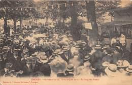 87 - HAUTE VIENNE / Limoges - 87538 - Kermesse 1910 - Le Long Des Stands - Beau Cliché Animé - Limoges