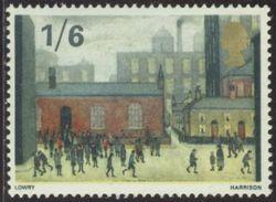 GB 1967 Yv. N°493 - La Sortie De L'école, De Laurence Stephen Lowry - Neuf ** - 1952-.... (Elizabeth II)