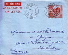 1962 - Trinidad Et Tobago - Aérogramme - TàD De Matelot - FRANCO DE PORT - Trindad & Tobago (1962-...)