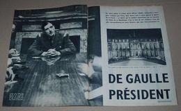 Article De 1958 Sur Le Général De Gaulle Sur 8 Pages - Personalidades Famosas