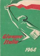 Tessera - Giovane Italia - Associazione Studentesca Di Azione Nazionale - Documenti Storici