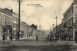 BELGIQUE - HAINAUT - LA LOUVIERE - Rue Hamon. - La Louvière