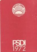 Tessera - Tessera PSDI - Documenti Storici