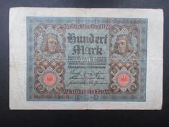 BILLET REICHSBANKNOTE (V1719) 100 HUNDERT MARK (2 Vues) 1/11/1920 - [ 3] 1918-1933 : República De Weimar