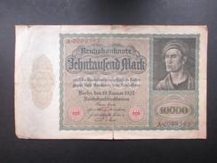 BILLET REICHSBANKNOTE (V1719) 10000 ZEHNTAUSEND MARK (2 Vues) BERLIN 19/01/1922 - [ 3] 1918-1933: Weimarrepubliek