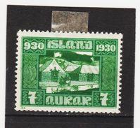 MAG1555  ISLAND 1930  Michl 127 (*) FALZ  ZÄHNUNG Siehe ABBILDUNG - 1918-1944 Unabhängige Verwaltung