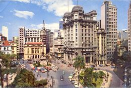 Brésil - Sao Paulo - 1971 - Place Du Collège - Ecrite - 2662 - São Paulo