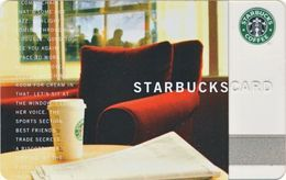 STATI UNITI  GIFT CARD STARBUCKS Cup And Red Armchair  US-STARB-6021-2004-0a - Cartes Cadeaux
