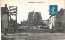SAINT MOREL .... LA PLACE - Frankrijk