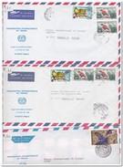 Niger, 5 Envelopes - Niger (1960-...)