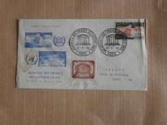 FDC  16/05/1959  Journée Des Timbres Des Nations Unis - FDC
