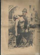 ANCIEN DIPLOME 40X31 SAPEURS POMPIERS VILLE DE VILLEPARISIS 1949 CORPS SAPEURS POMPIERS DE LAGNY PRIX EXELLENCE X PARIS - Pompiers